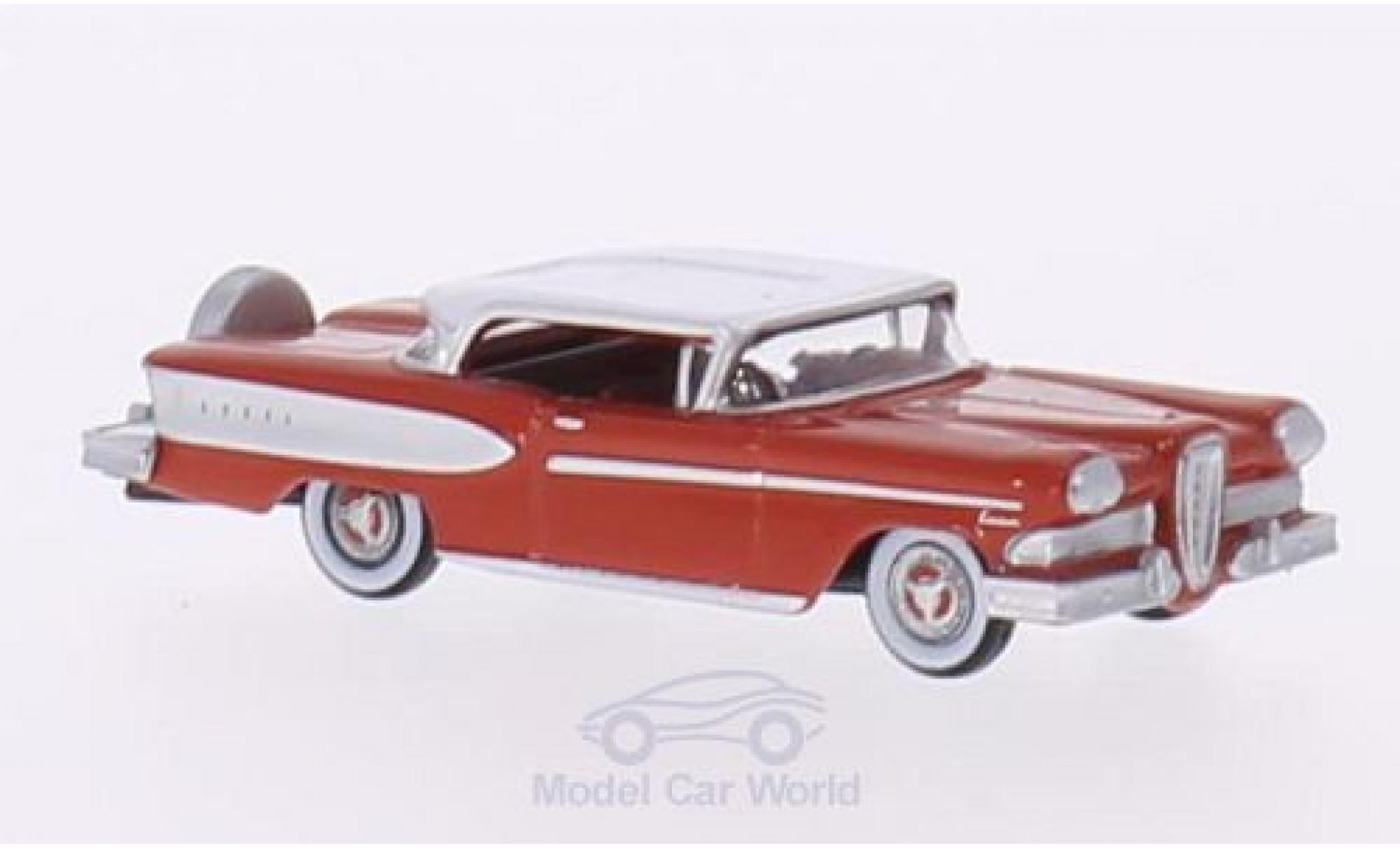 Edsel Citation 1/87 Oxford rouge/blanche 1958