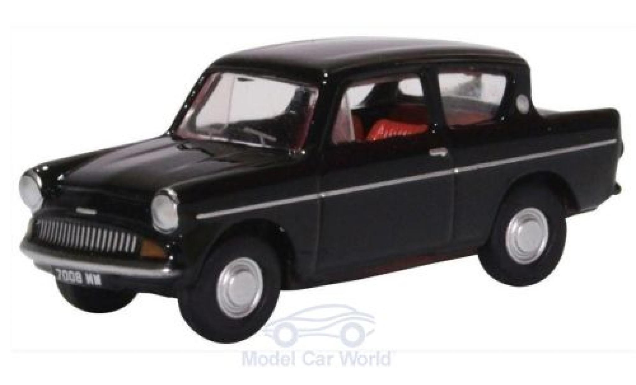 Ford Anglia 1/76 Oxford 105E noire 1962