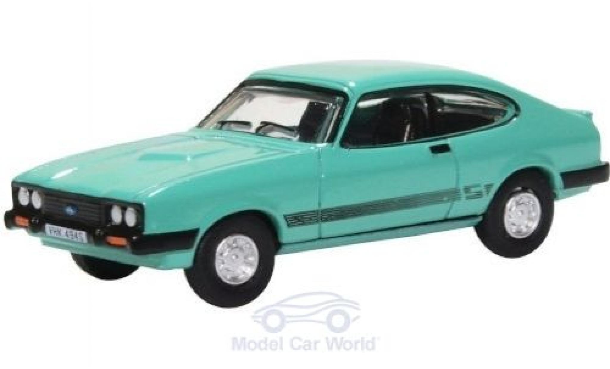 Ford Capri 1/76 Oxford MKIII 3.0 S verte