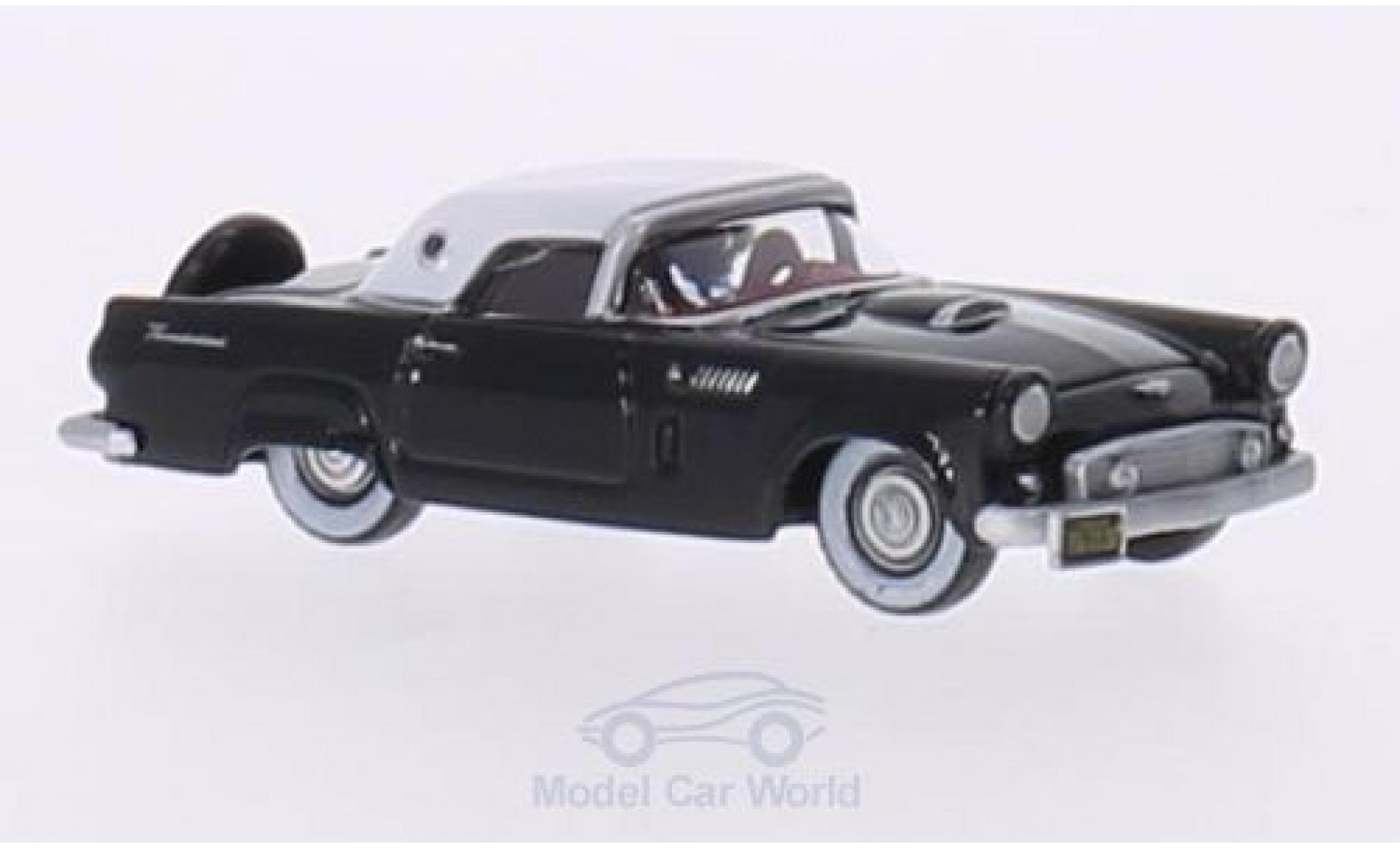 Ford Thunderbird 1956 1/87 Oxford noire/blanche 1956