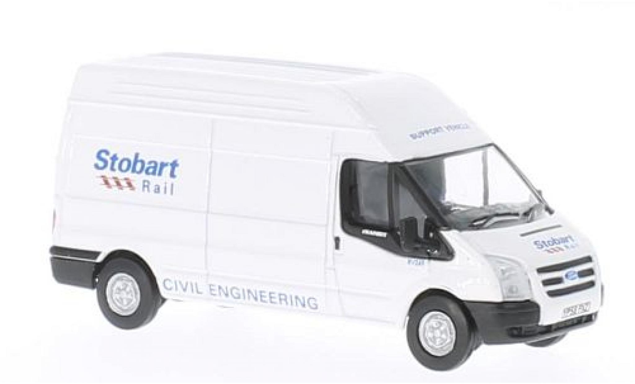 Ford Transit 1/76 Oxford LWB High Roof Stobart