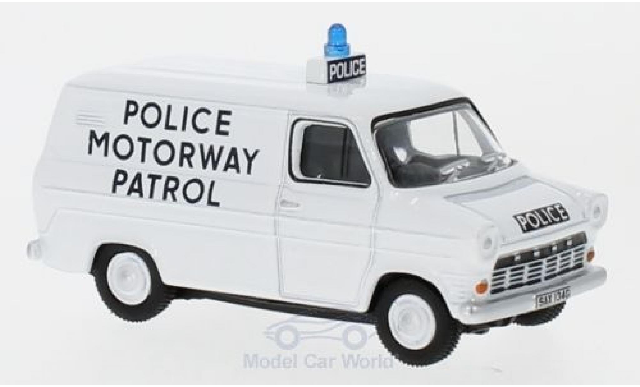 Ford Transit 1/76 Oxford MK1 Police Motorway Patrol (Gwent)
