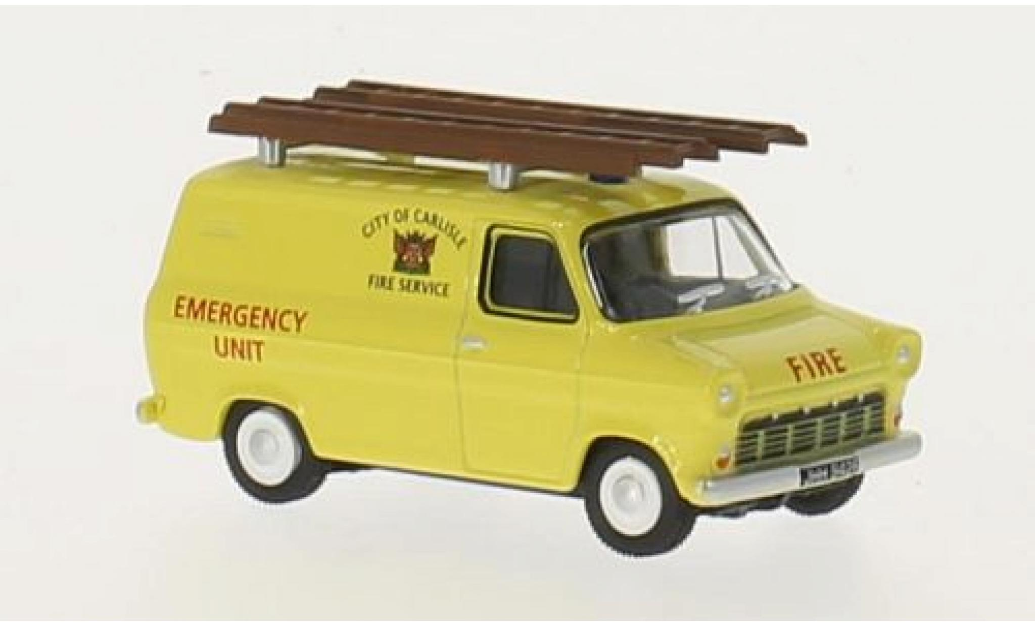 Ford Transit 1/76 Oxford Mk1 RHD City of Carlisle Fire Service