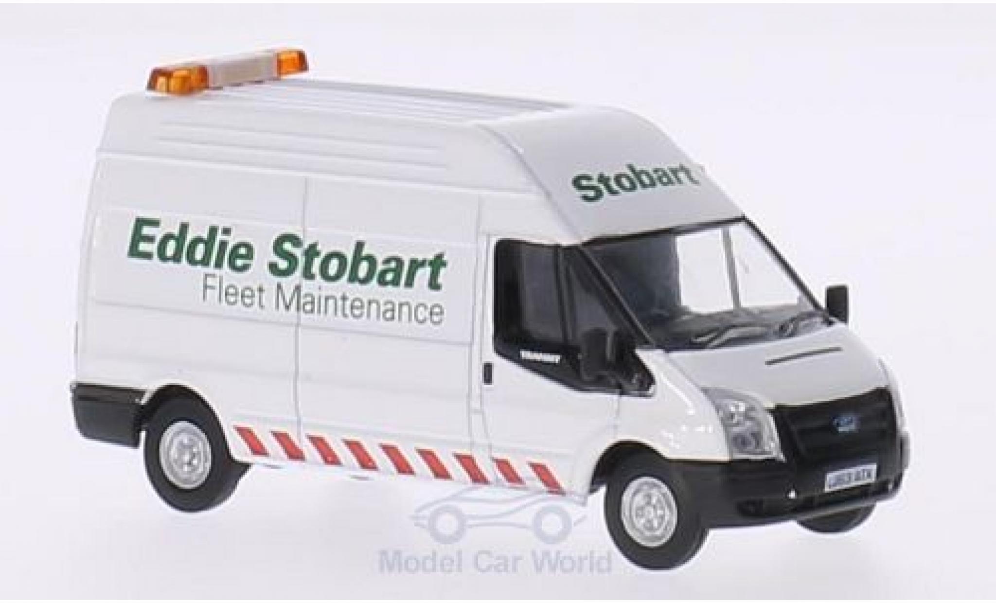 Ford Transit 1/76 Oxford RHD Eddie Stobart Fleet Maintenance LWB High