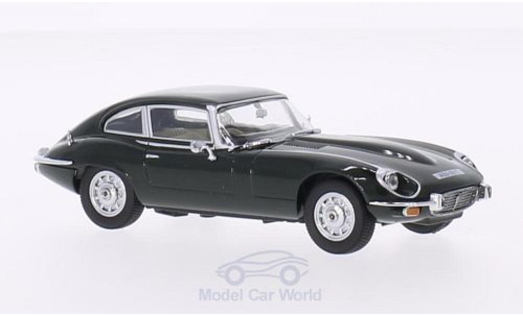 Jaguar E-Type 1/43 Oxford V12 Coupe verte RHD
