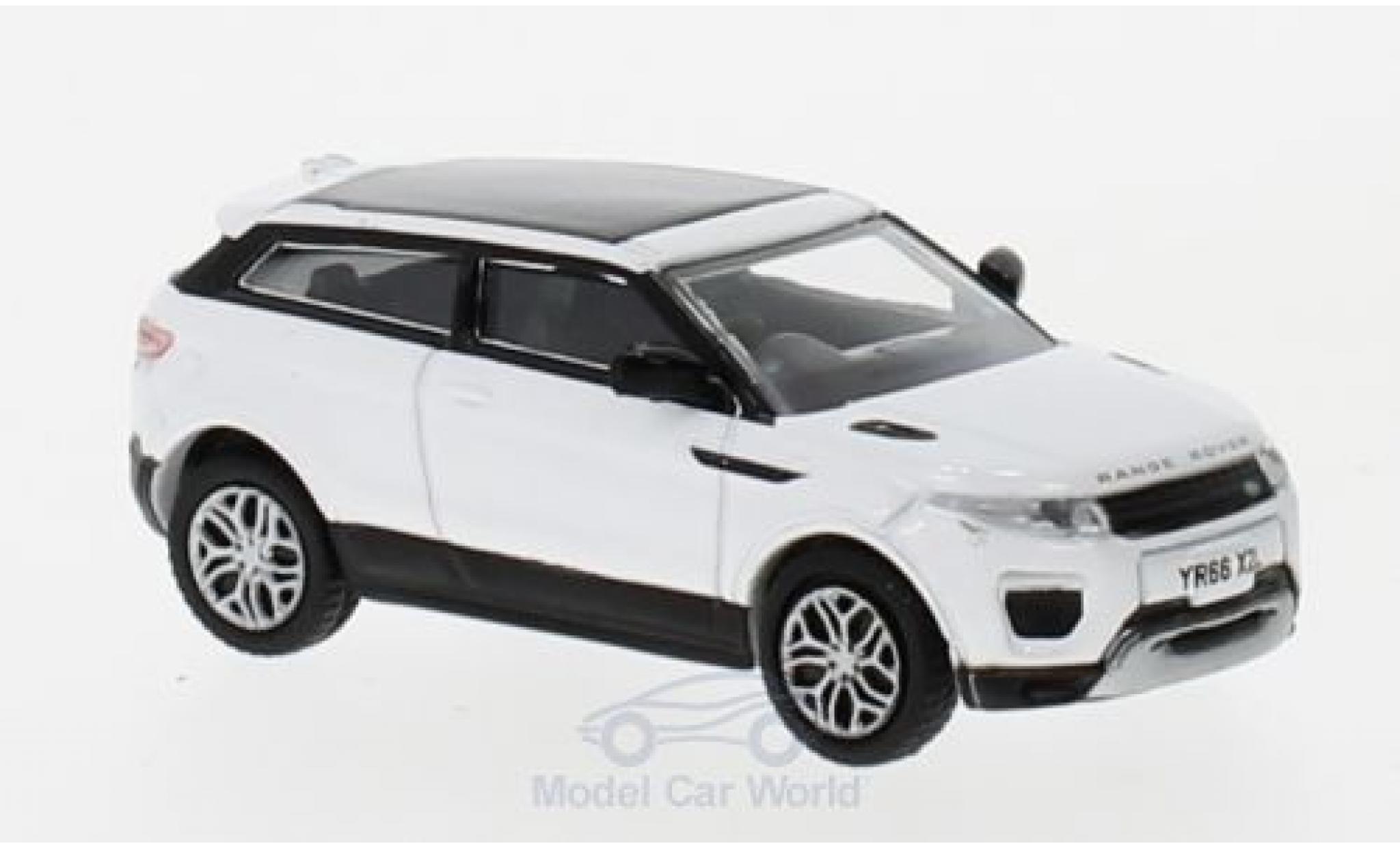 Land Rover Range Rover 1/76 Oxford Evoque Coupe (Facelift) blanche