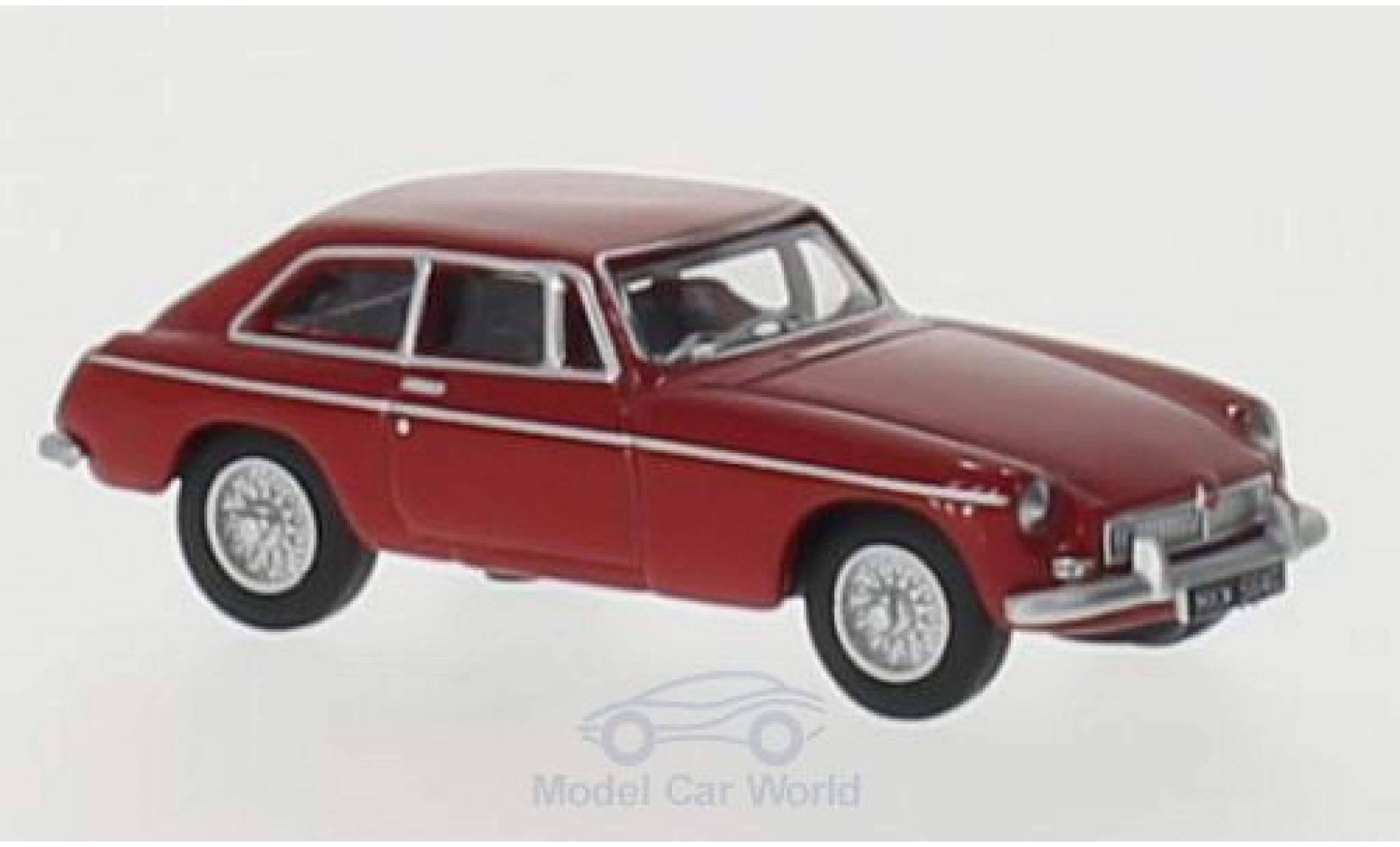 MG B 1/76 Oxford GT rouge RHD