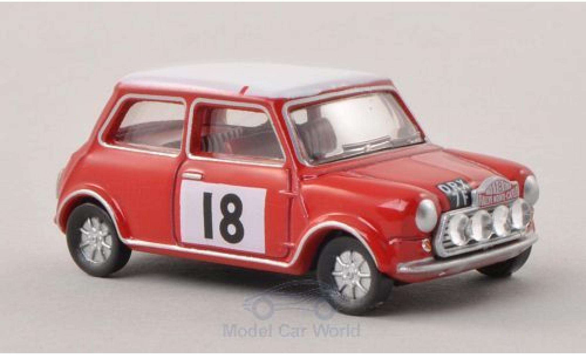 Mini Cooper 1/76 Oxford S MkII No.18 Rallye Monte-Carlo 1968