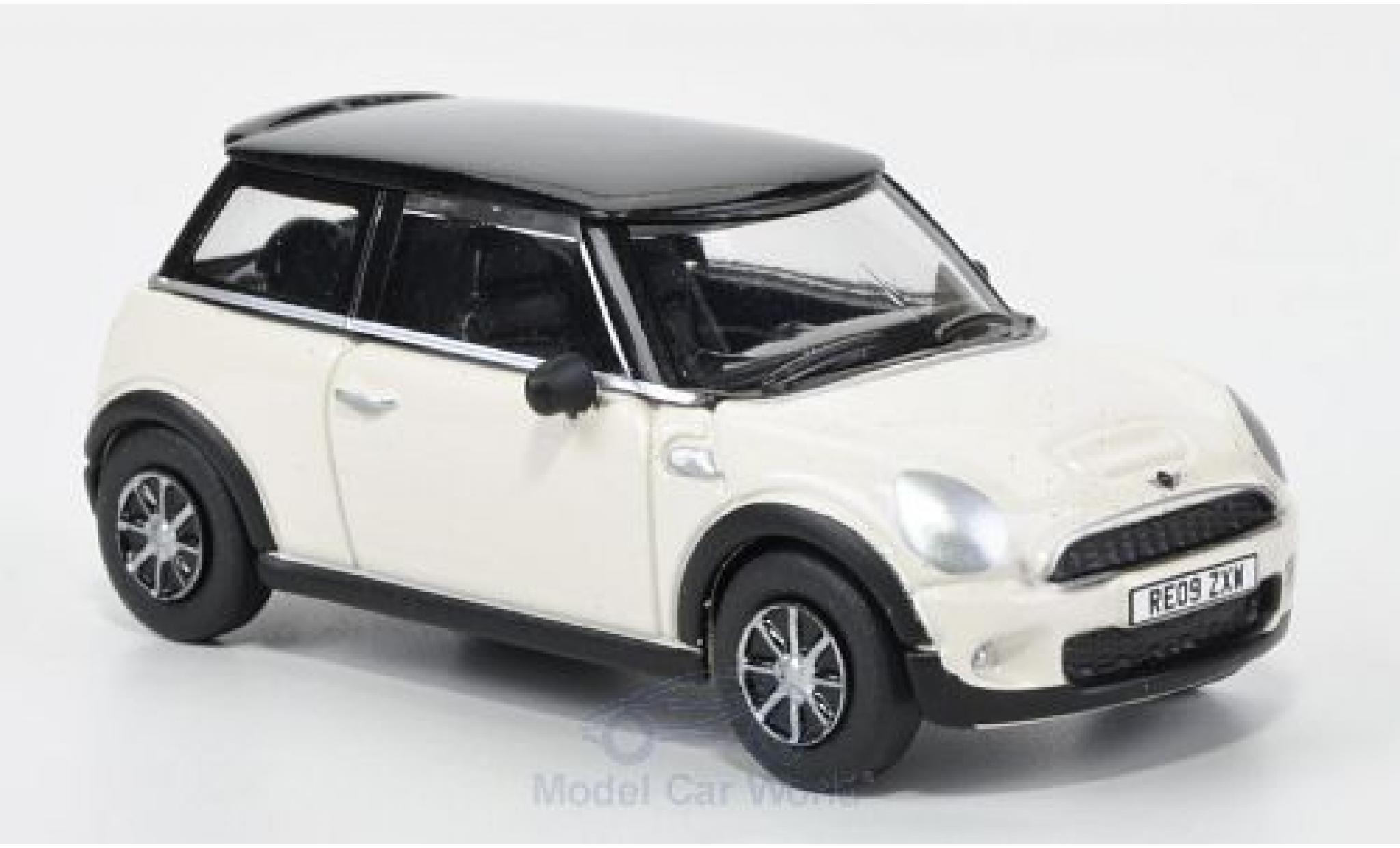 Mini Cooper 1/76 Oxford S blanche/noire 2005