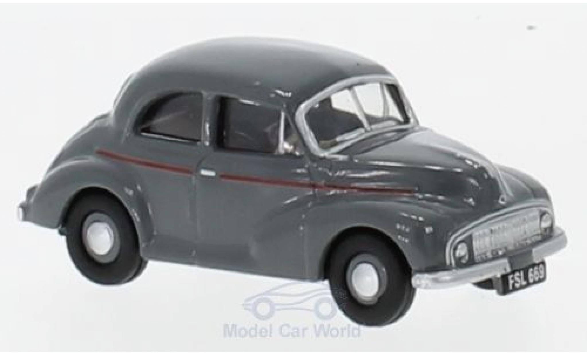 Morris Minor 1/76 Oxford Saloon grise