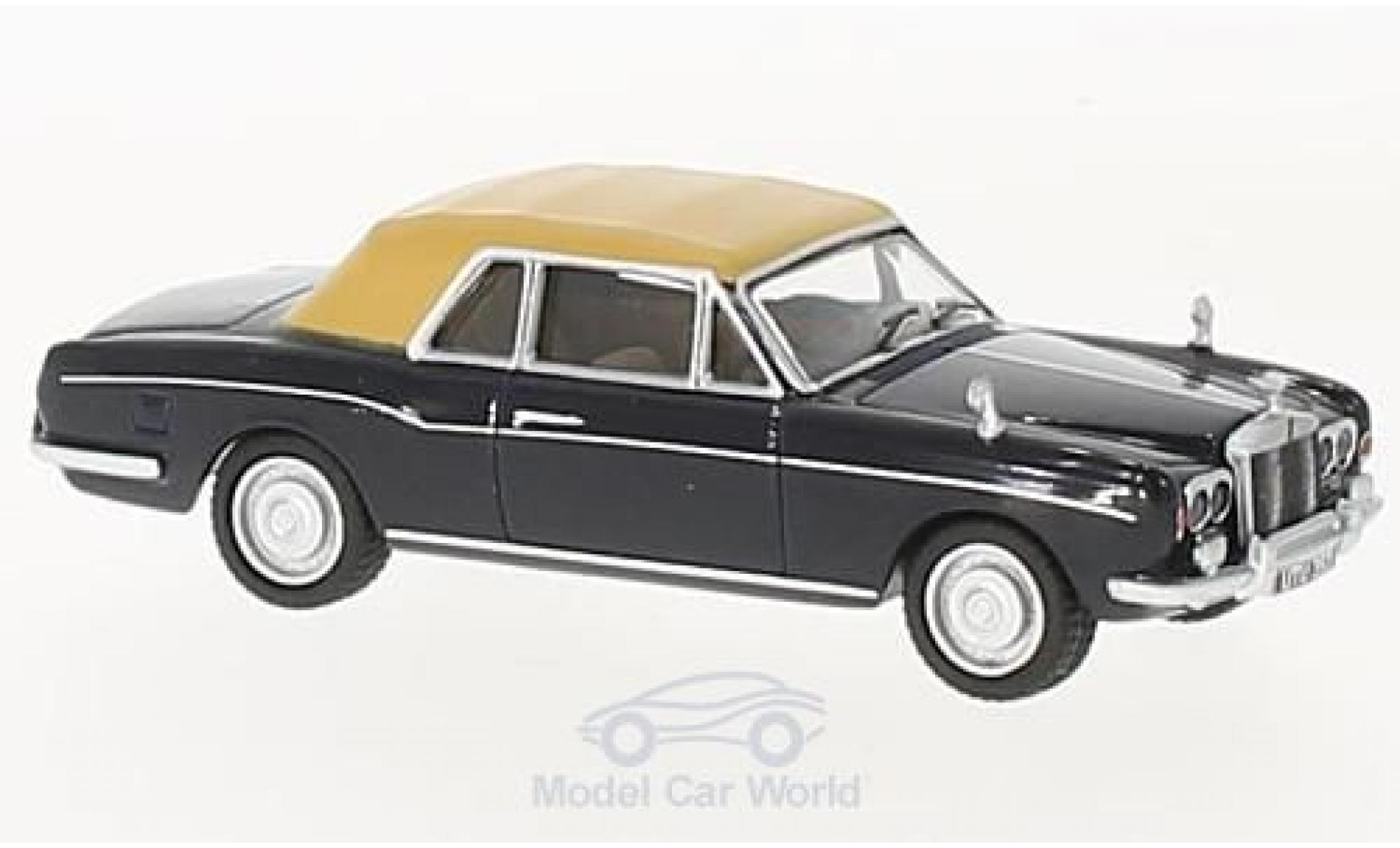 Rolls Royce Corniche 1/76 Oxford dunkelblue/matt-dunkelbeige