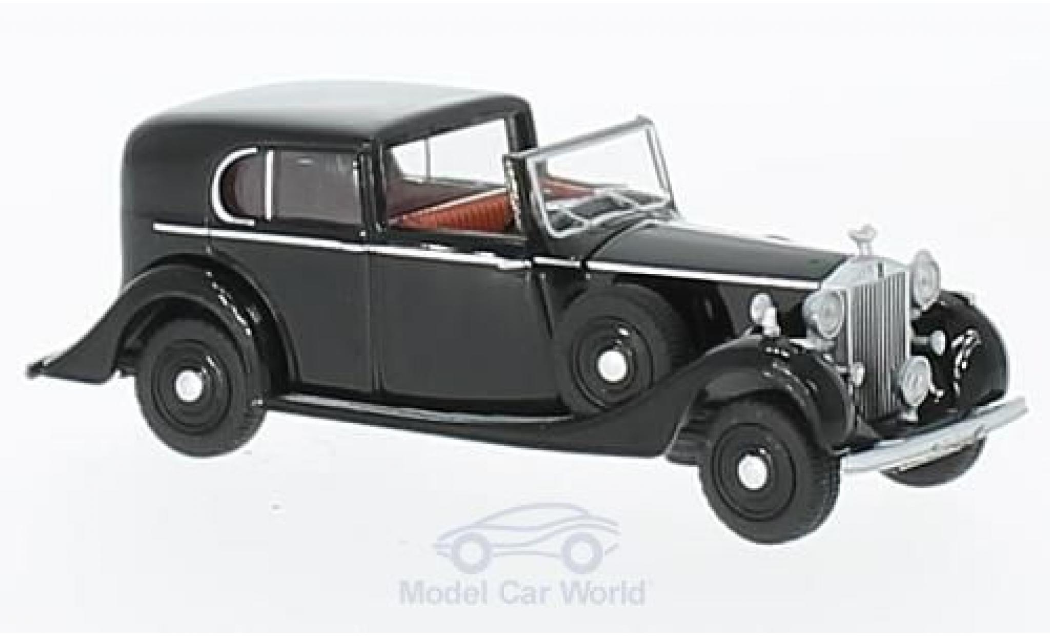 Rolls Royce Phantom 1/76 Oxford III noire