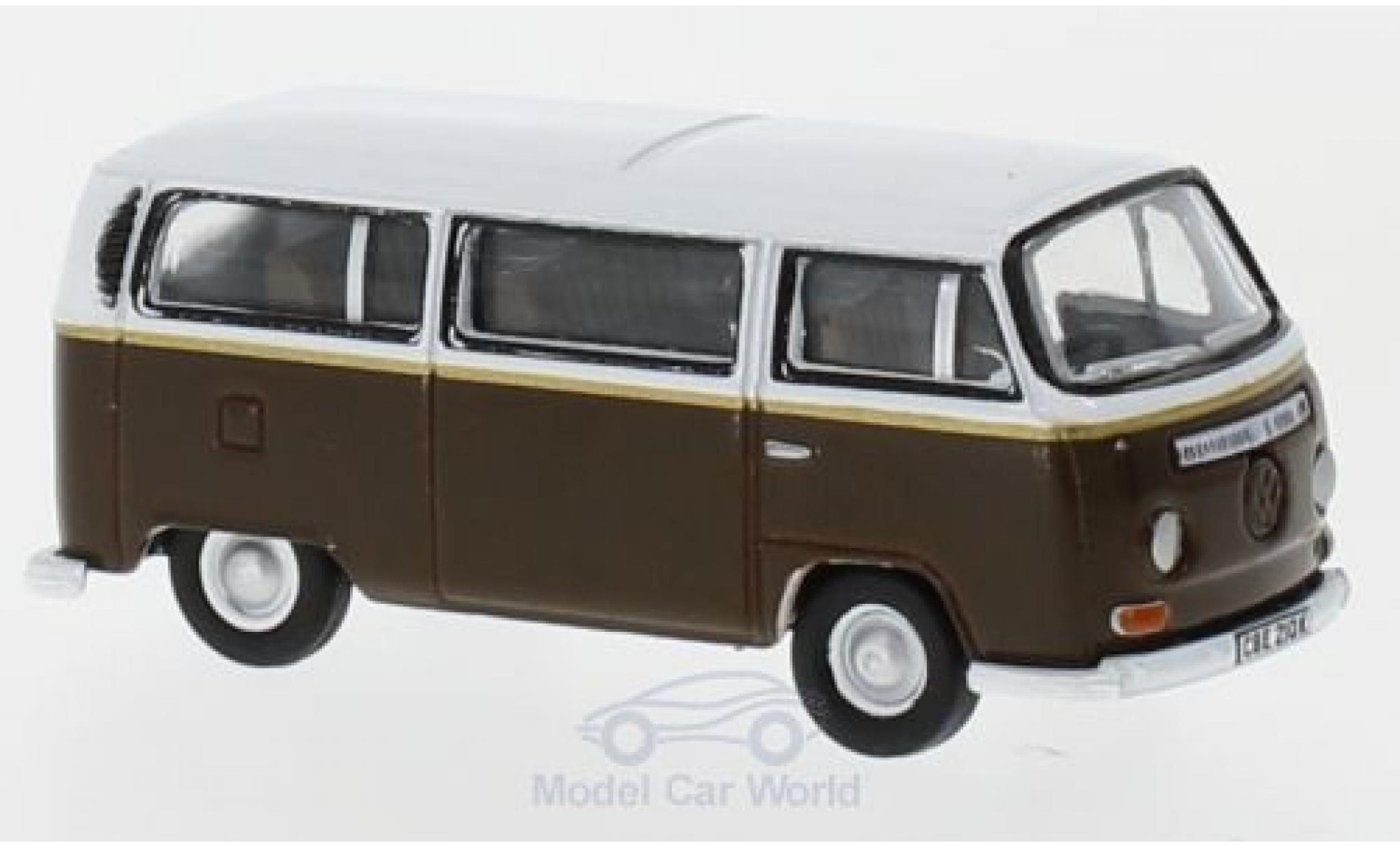 Volkswagen T2 B 1/76 Oxford Bay Window dunkelmarron/blanche Auf Wiedersehn Pet