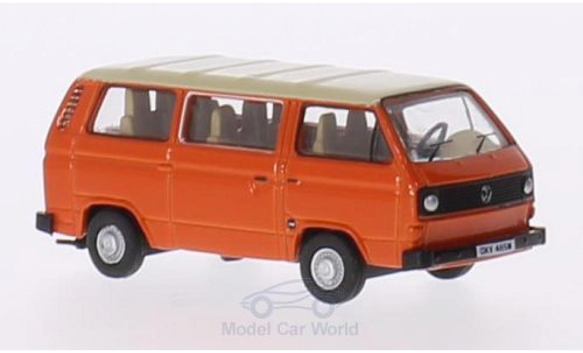 Volkswagen T2 B 1/76 Oxford 5 us orange/beige