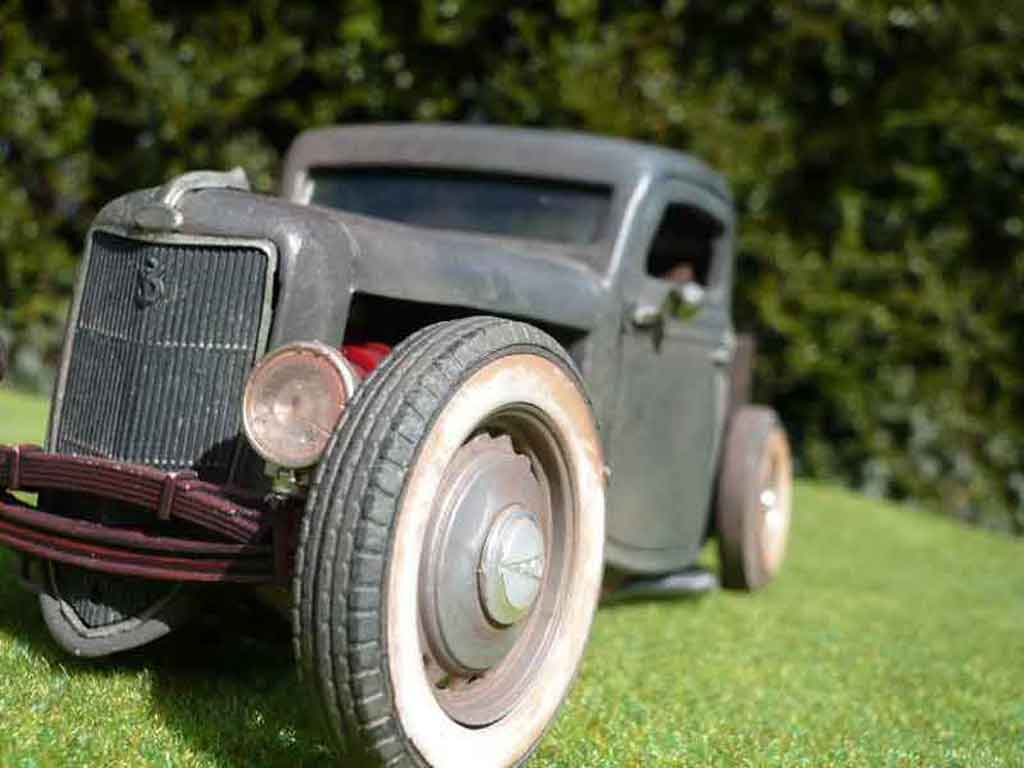 Ford 1936 1/18 Solido pick up hot rod tuning miniature