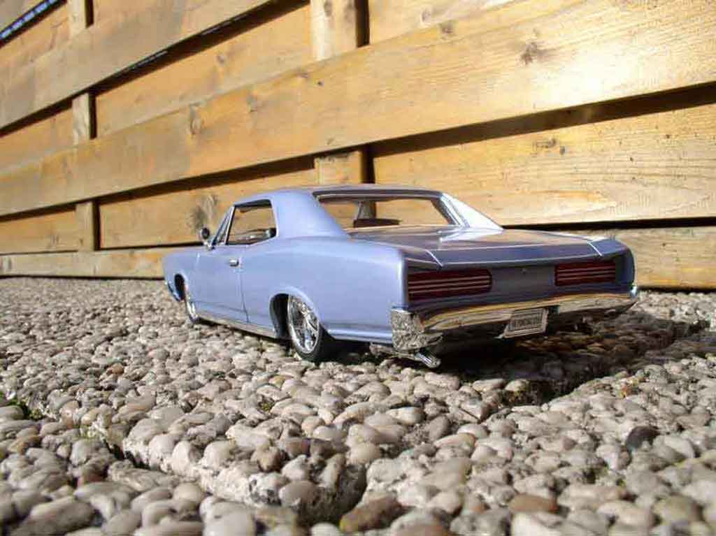 Pontiac GTO 1/18 Welly 1966 blue ciel
