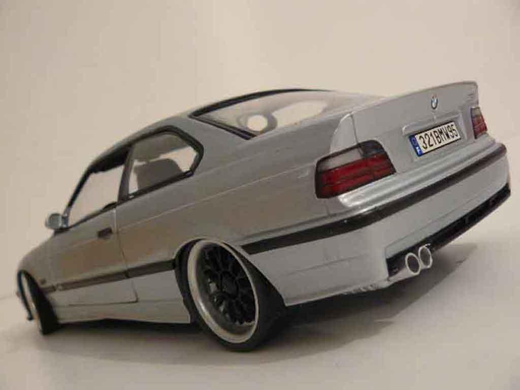 Bmw M3 E36 1/18 Ut Models grigia jantes bbs
