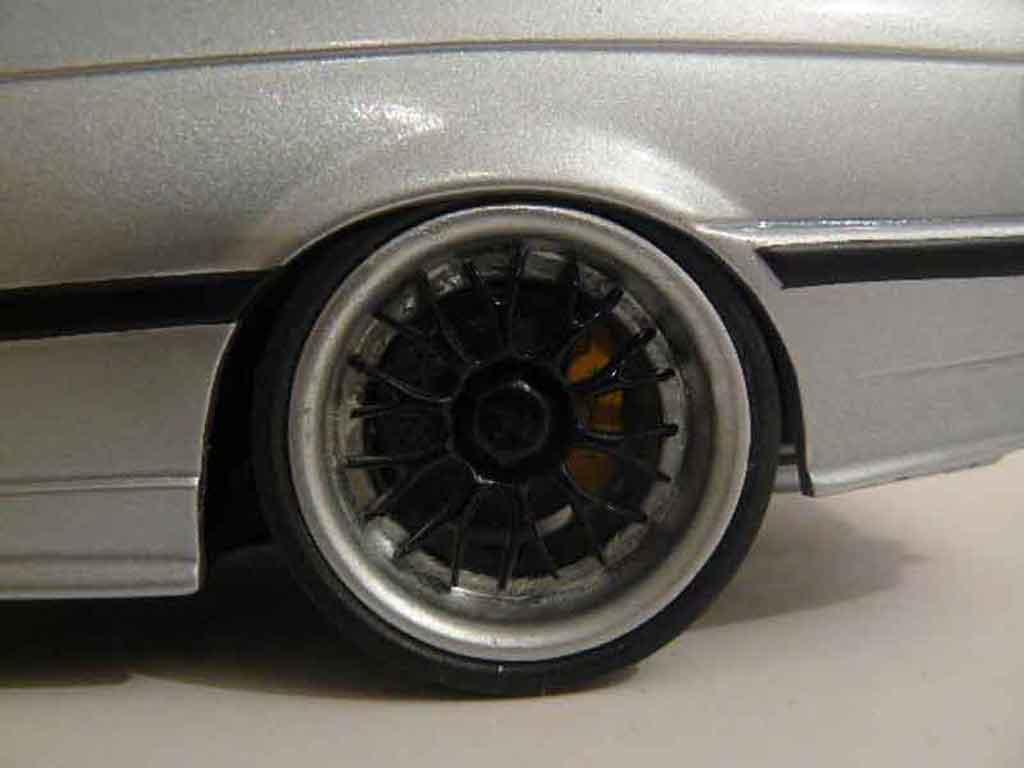 Bmw M3 E36 1/18 Ut Models gray jantes bbs