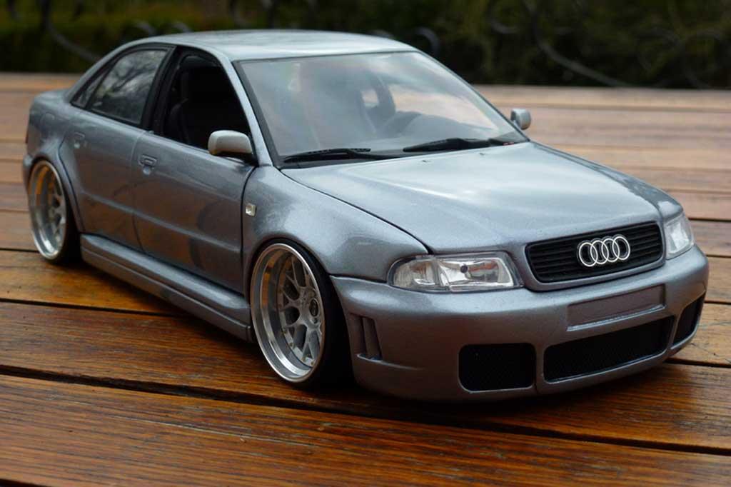 Audi S4 Gray 20 Inch Bbs Wheels Ut Models Cast Model Car 1 18 On Allcast Co Uk