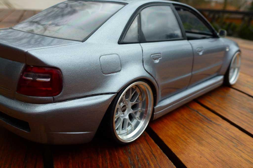 Audi S4 1/18 Ut Models grau jantes BBS 20 pouces