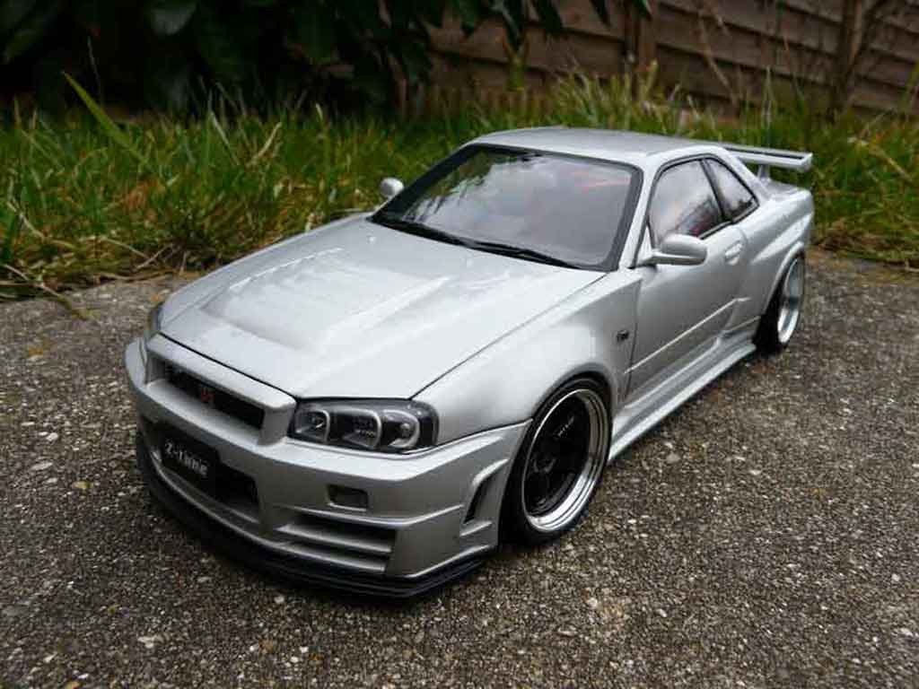 nissan skyline r34 gtr miniature nismo z tune tuning autoart 1 18 voiture. Black Bedroom Furniture Sets. Home Design Ideas