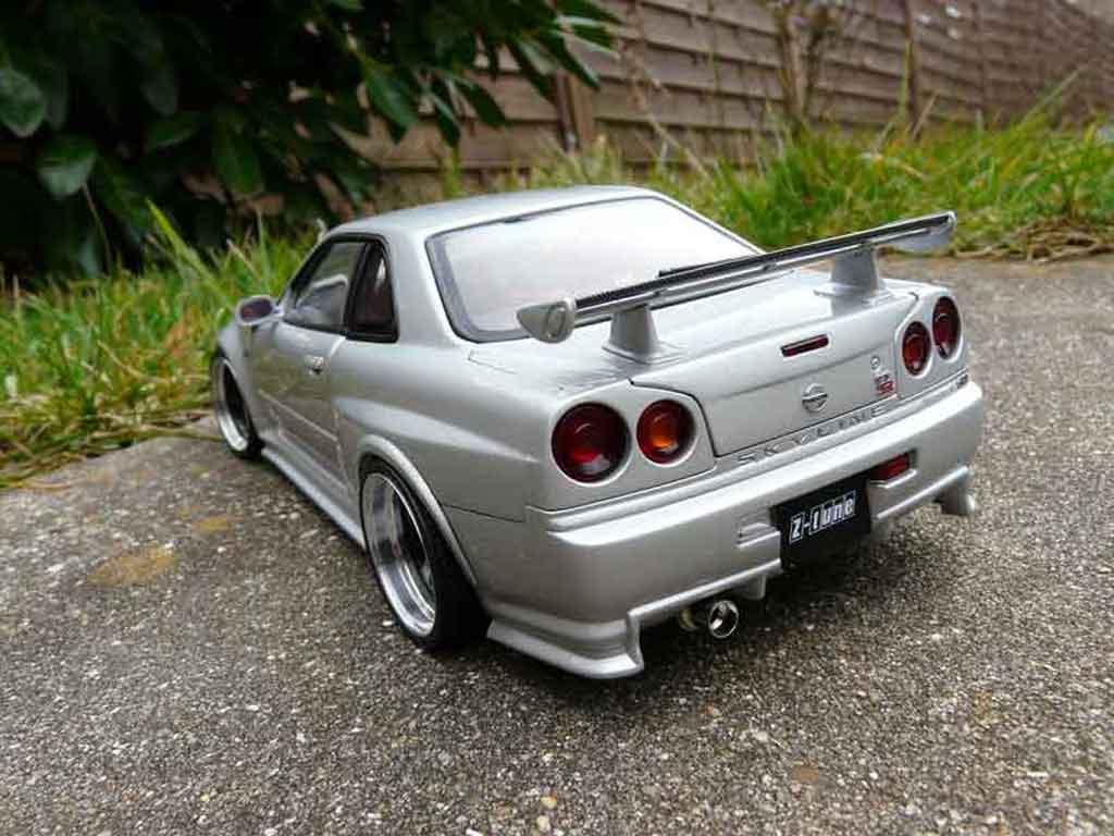 Nissan Skyline R34 GTR 1/18 Autoart nismo z-tune tuning