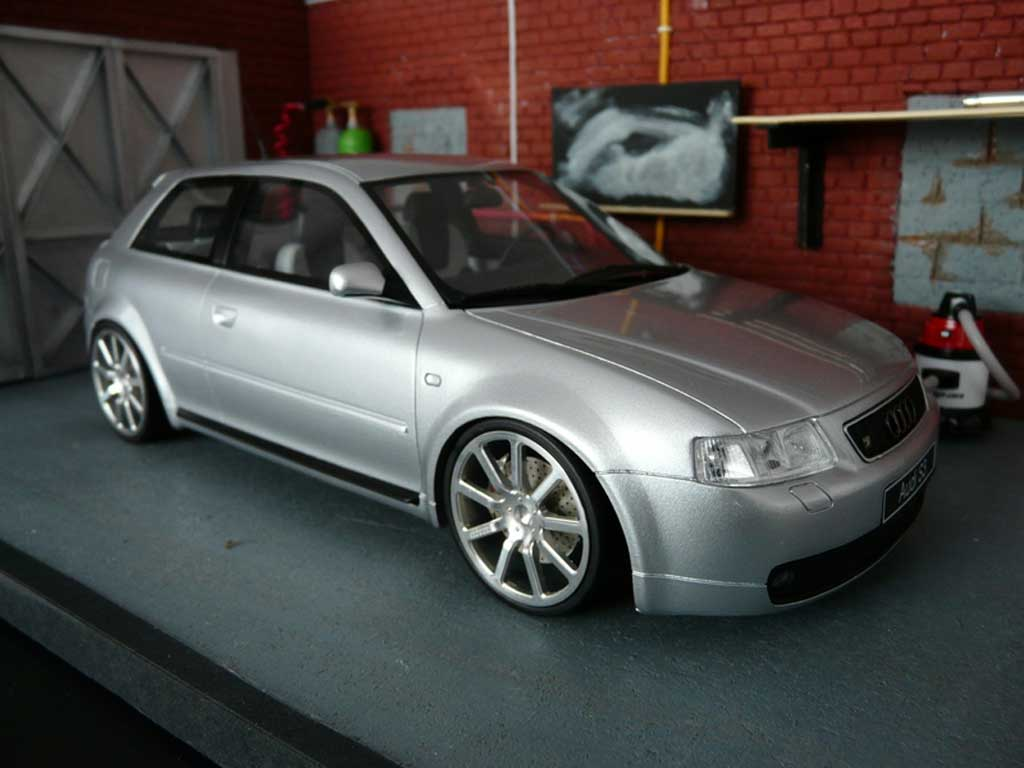 Audi S3 1/18 Ottomobile grey jantes MTM tuning diecast model cars