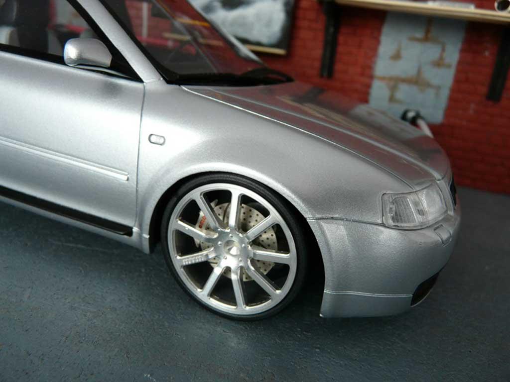 Audi S3 1/18 Ottomobile grey jantes MTM