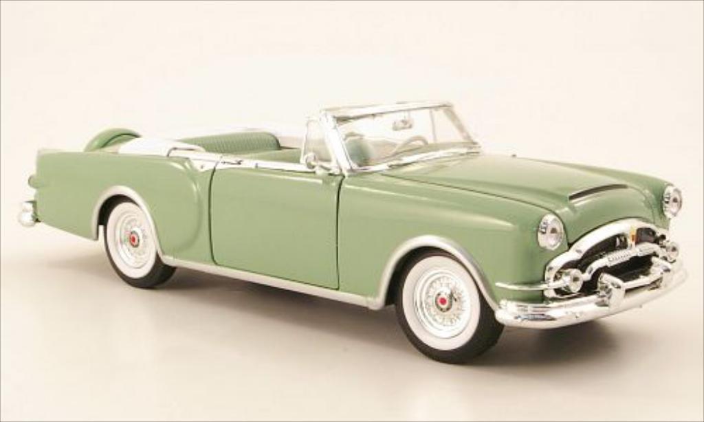 Packard Caribbean 1/24 Welly grun 1953 miniature