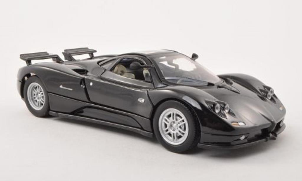 Pagani Zonda C12 1/24 Motormax noire miniature