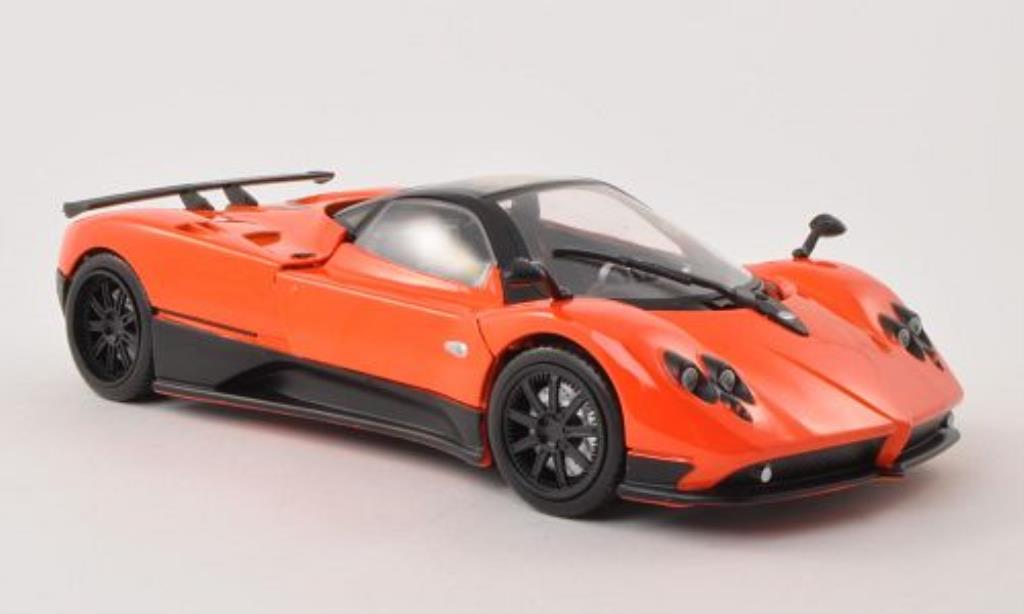 Pagani Zonda F orange Motormax diecast model car 1/18 - Buy/Sell ...