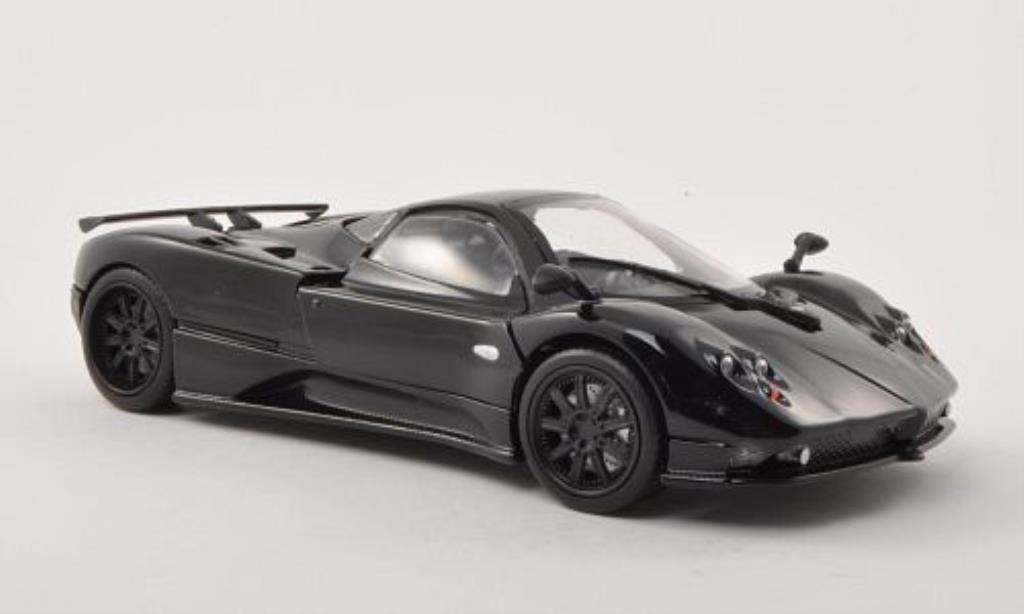 Pagani Zonda F 1/24 Motormax noire/carbon miniature