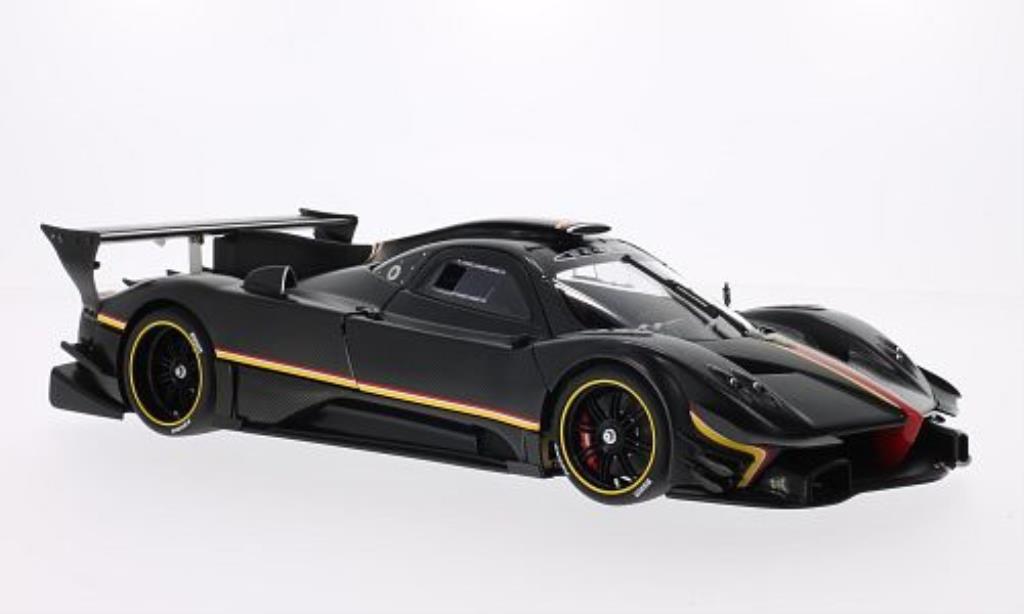 Pagani Zonda R 1/18 Autoart Evolucion noire/carbon 2013 miniature