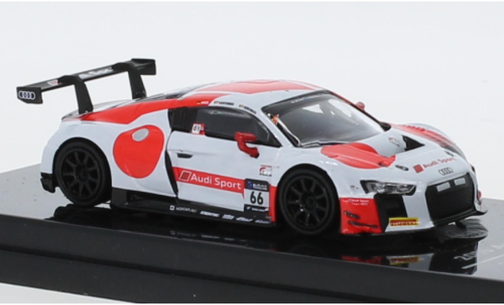 Audi R8 1/64 Para64 LMS No.66 Sport Team WRT 10H Suzuka 2018 C.Mies/D.Vanthoor/F.Vervisch