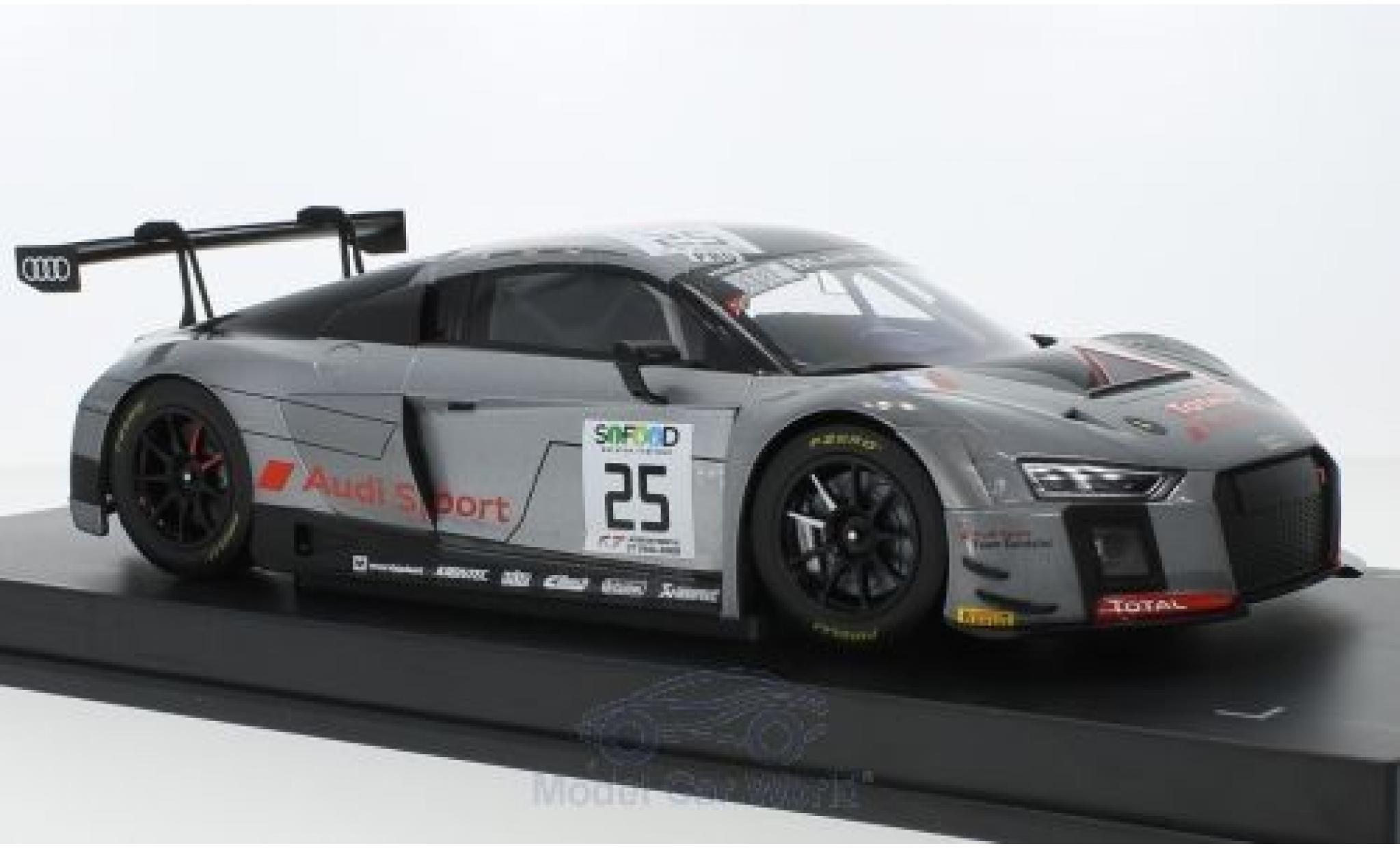 Audi R8 1/18 Paragon LMS No.25 Sainteloc Racing Blancpain Endurance Series 24h Spa Francorchamps 2017 M.Winkelhock/C.Haase/J.Gounon