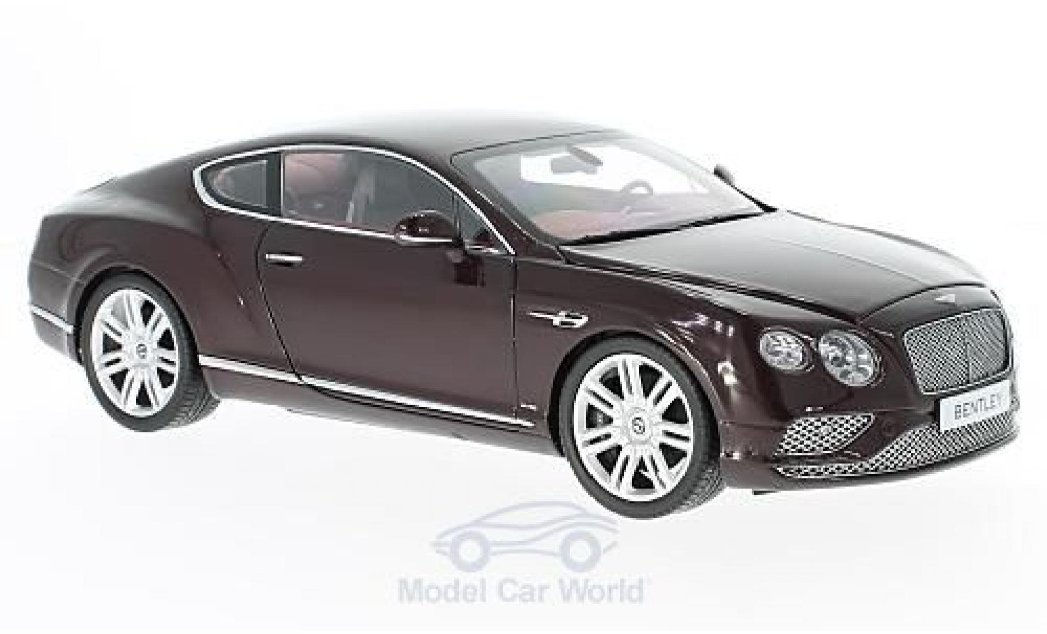 Bentley Continental T 1/18 Paragon GT dunkelred 2016
