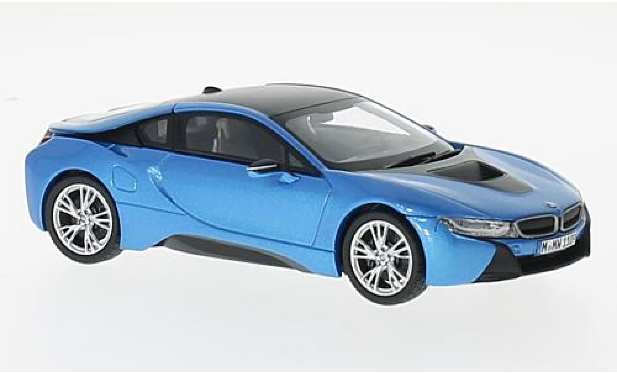 Bmw i8 1/43 Paragon metallise blue/grey