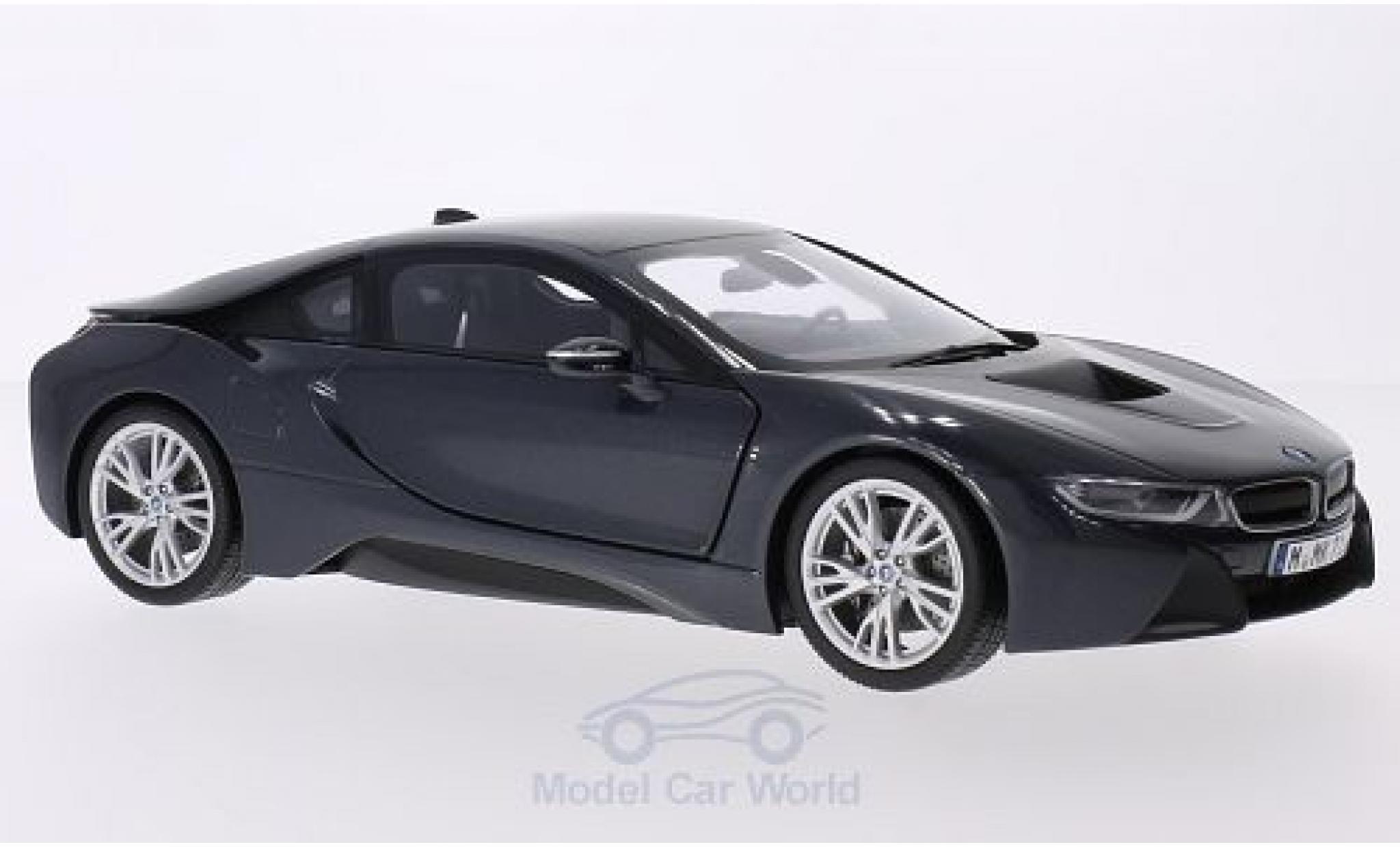 Bmw i8 1/18 Paragon BMW metallic-dunkelgrise