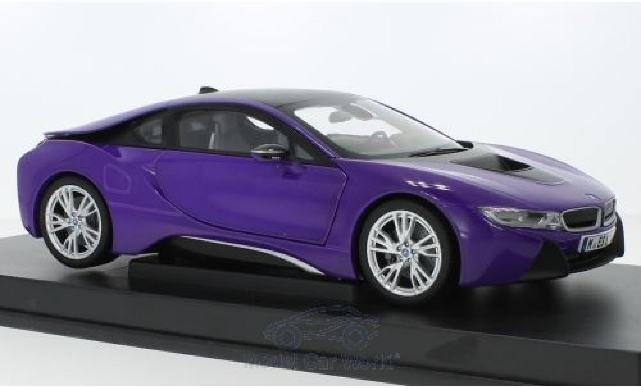 Bmw i8 1/18 Paragon purple