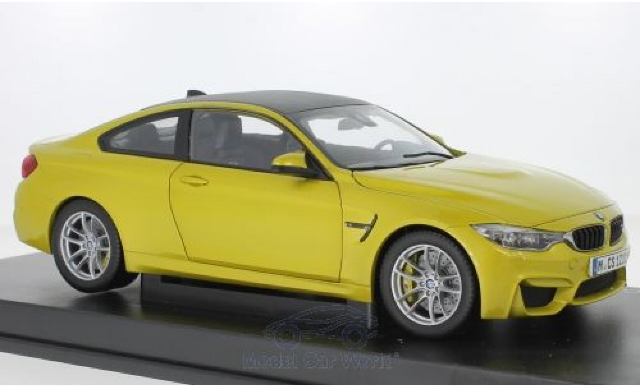 Bmw M4 1/18 Paragon (F83) Coupe metallise jaune