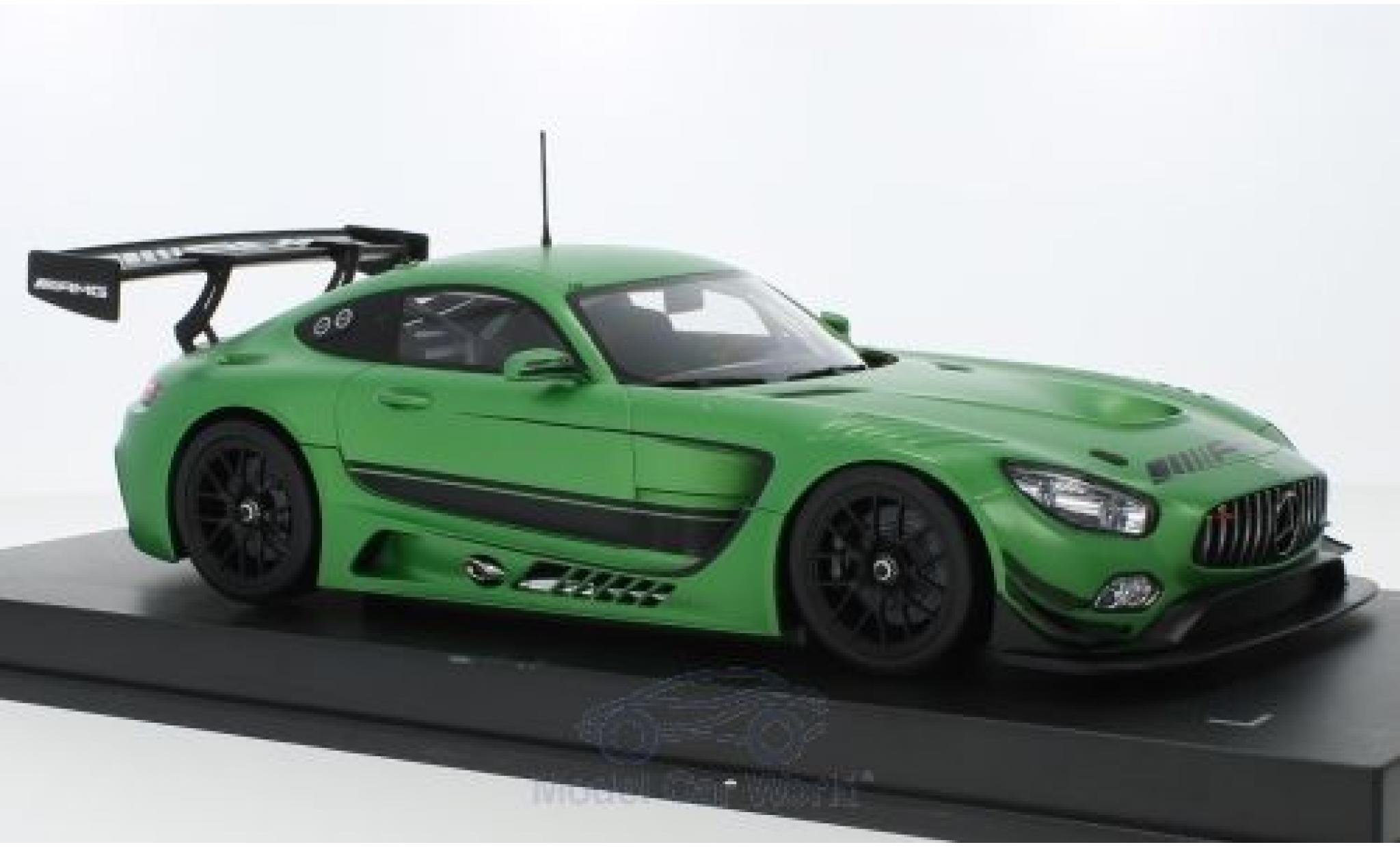 Mercedes AMG GT 1/18 Paragon 3 matt-verte 2016