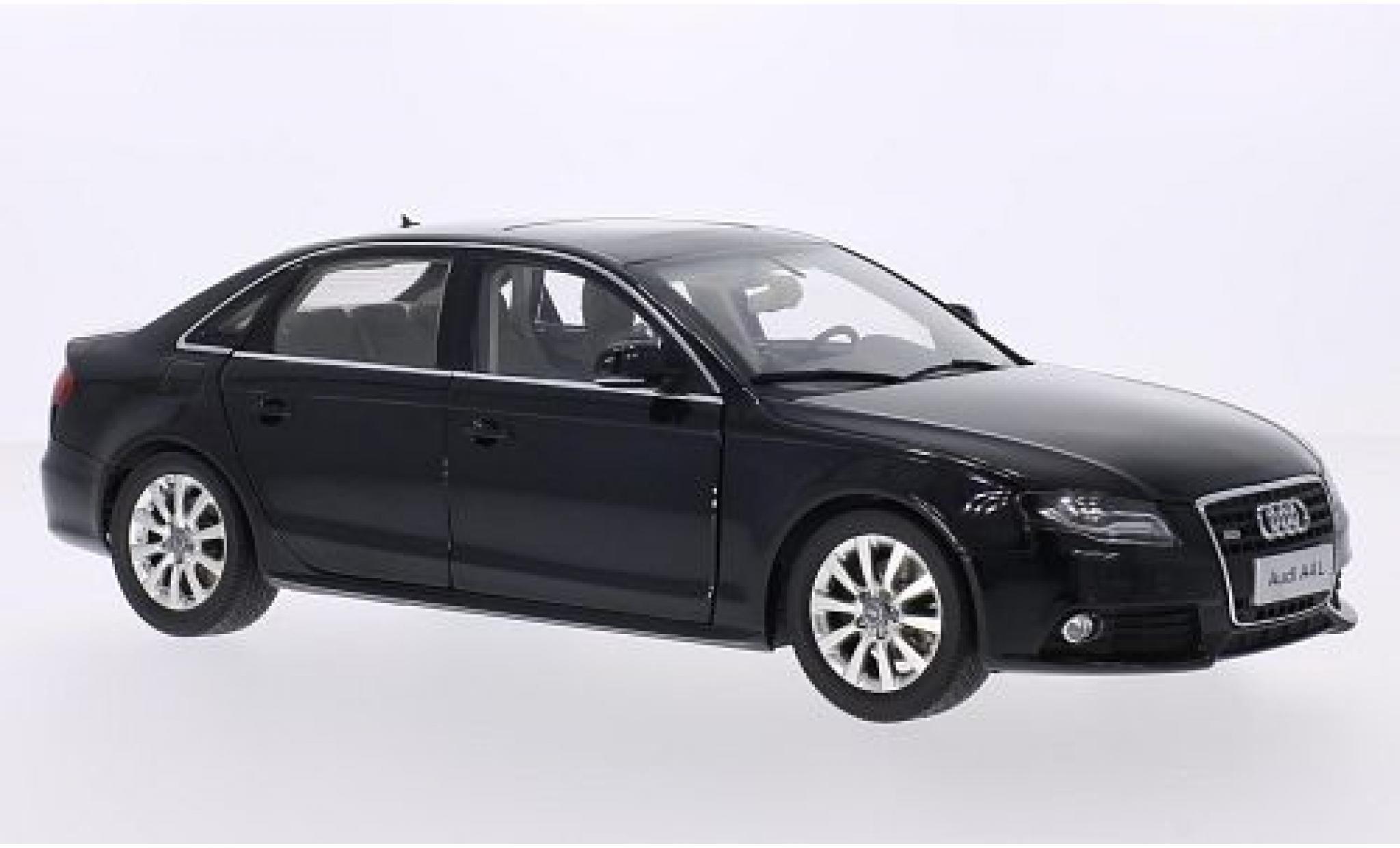 Audi A4 1/18 Paudi L (B8) metallise noire 2011
