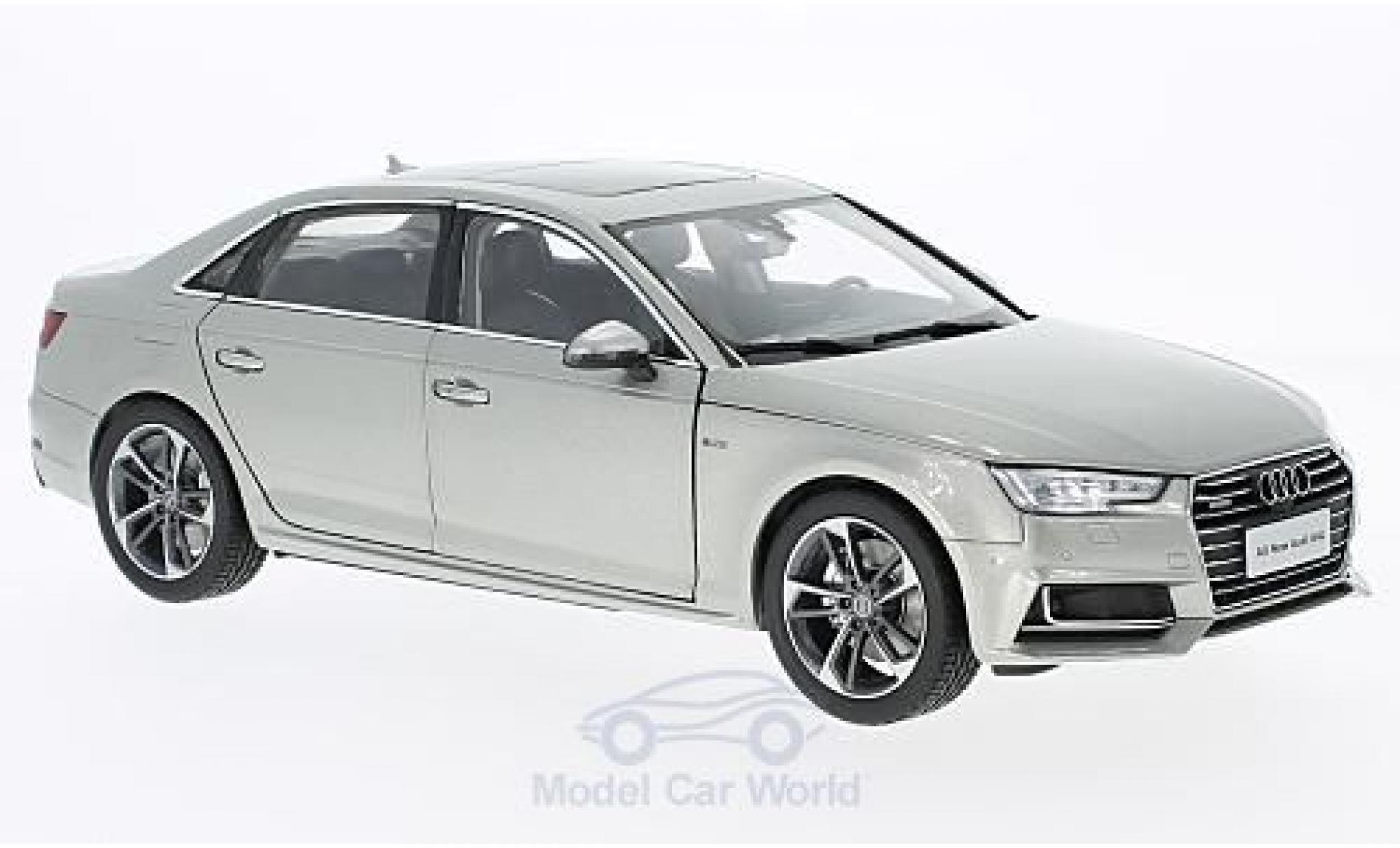 Audi A4 1/18 Paudi L grey 2017 ohne Vitrine