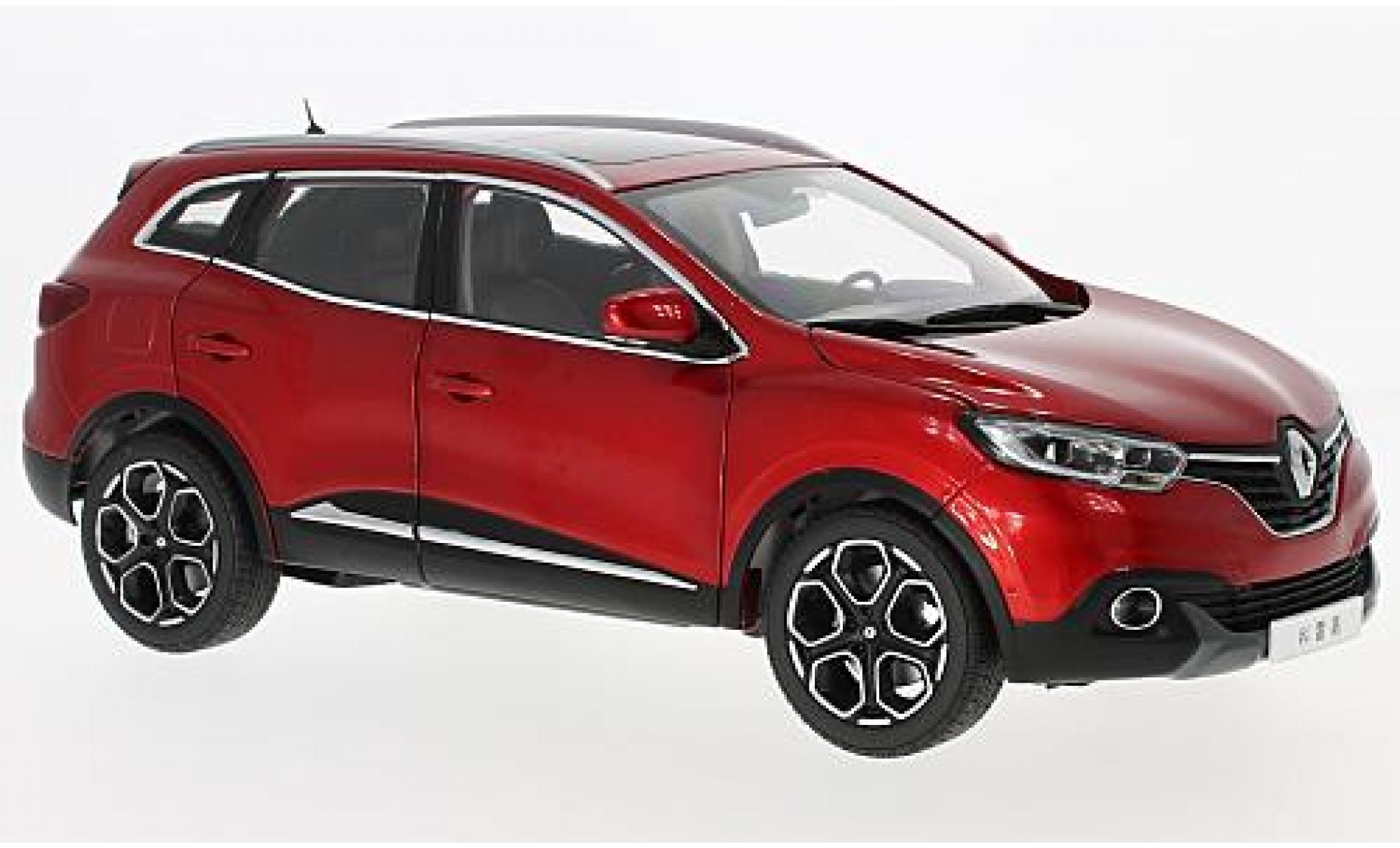 Renault Kadjar 1/18 Paudi metallise rouge 2016