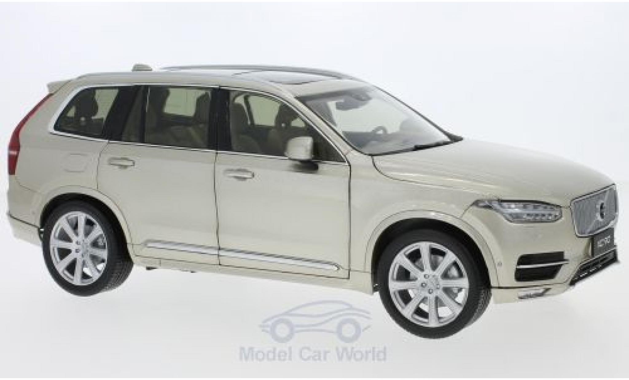 Volvo XC 1/18 Paudi 90 metallise beige 2018