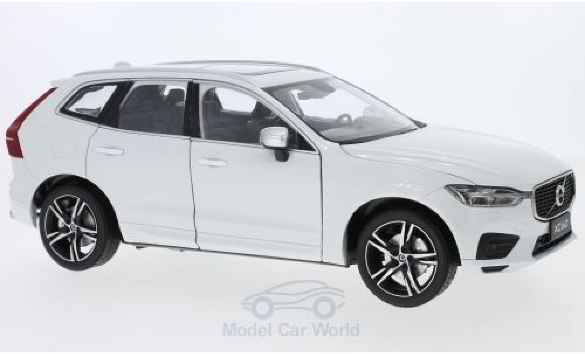 Volvo XC 1/18 Paudi 60 R blanche 2018