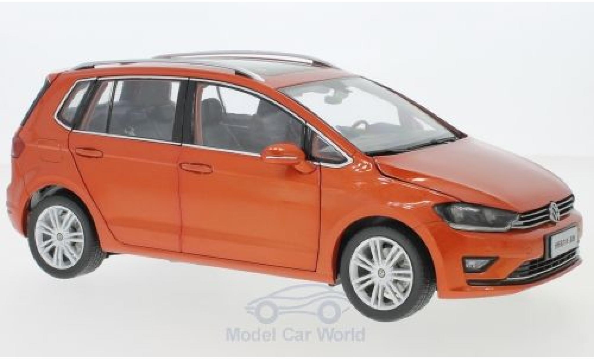 Volkswagen Golf 1/18 Paudi Sportsvan métallisé orange 2018