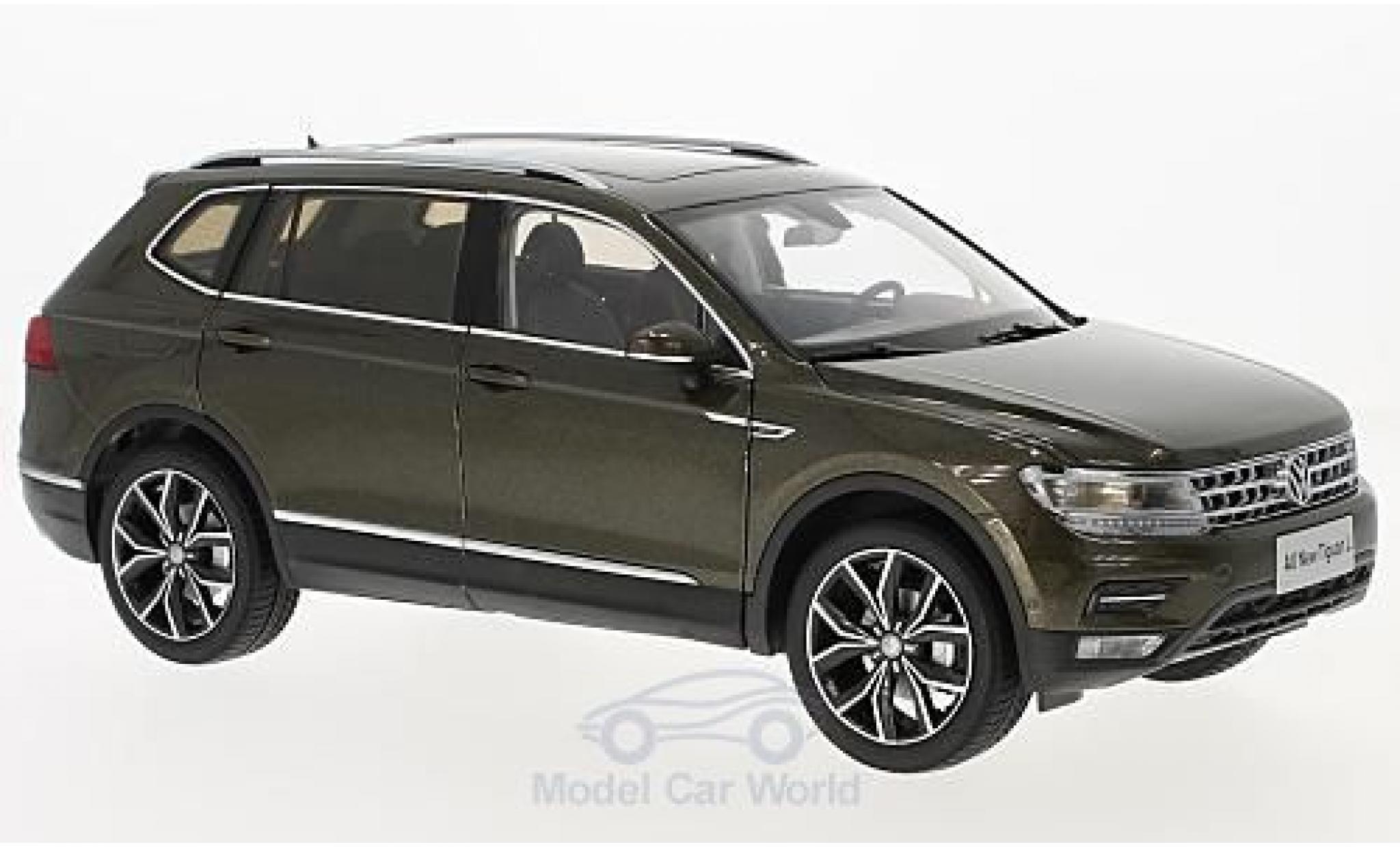 Volkswagen Tiguan 1/18 Paudi L métallisé marron 2017