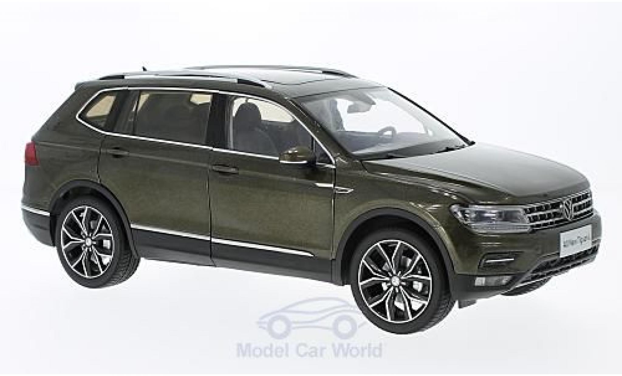 Volkswagen Tiguan 1/18 Paudi L métallisé marron ohne Vitrine
