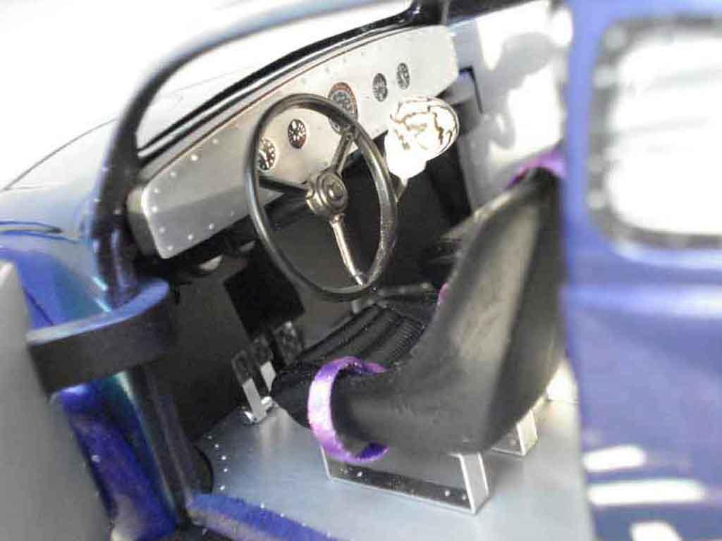 Volkswagen Kafer Drag Run 1/18 Solido cox 58 purple bullet